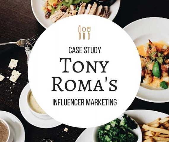 Influencer Marketing Campaign Case Study for Tony Romas's