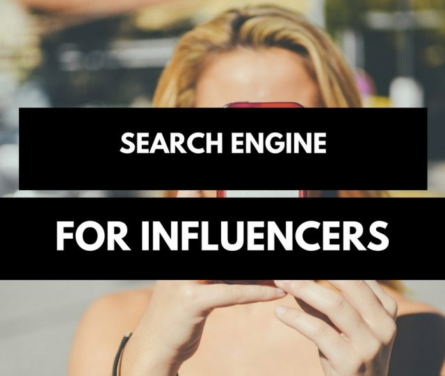 Influence Search Engine